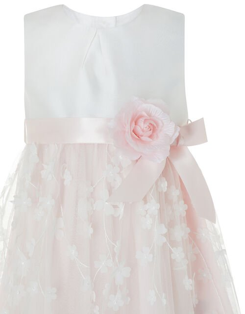 Baby Eloise Floral Occasion Dress, Pink (PALE PINK), large