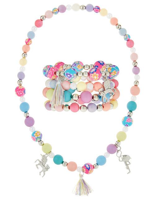 Rainbow Charmy Jewellery Set, , large