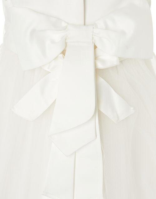 Baby Tulle Bridesmaid Dress, Ivory (IVORY), large