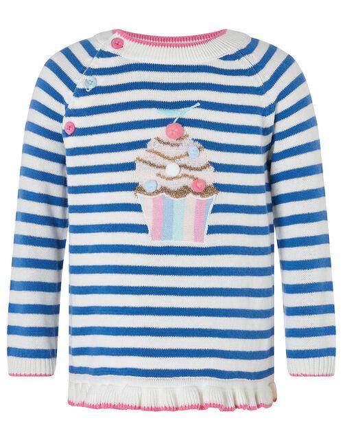Baby Ola Cupcake Jumper and Legging Set, Blue (BLUE), large