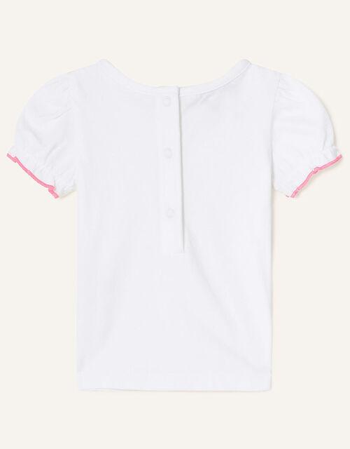 Newborn Floral Gingham Romper Set, Pink (PINK), large