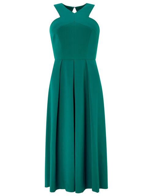 Penelope Midi Dress, Green (GREEN), large