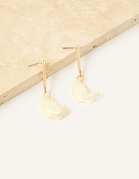 Pearl Drop Earrings , , large