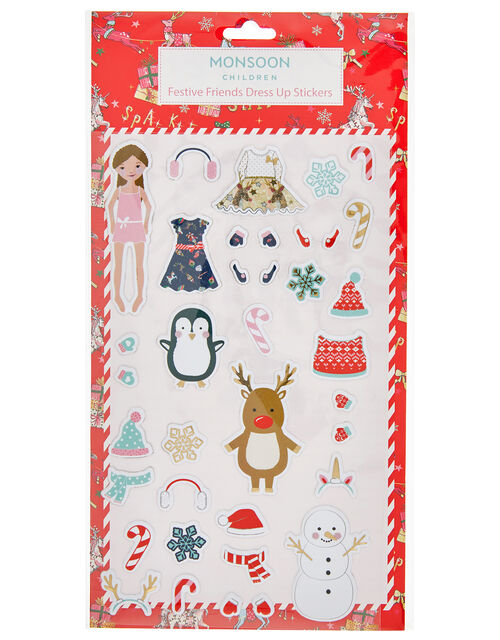 Festive Friends Dress-Up Stickers, , large