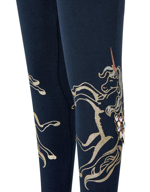 Pegasus Leggings, Blue (NAVY), large