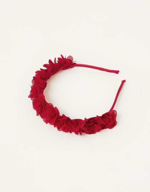 Party Ruffle Pom-Pom Headband , , large