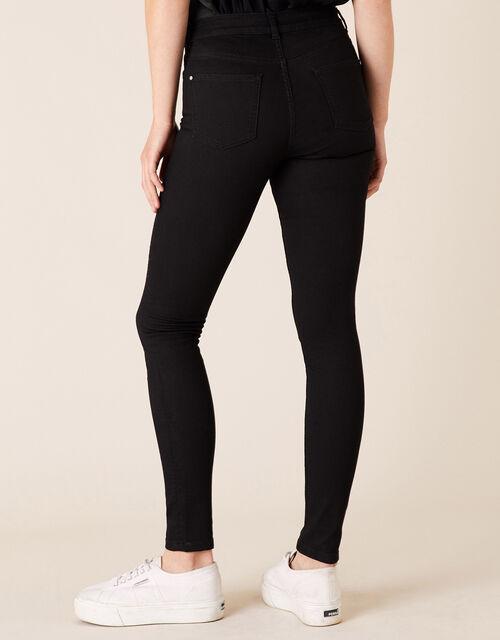 Nadine Star Sparkle Leg Jeans, Black (BLACK), large