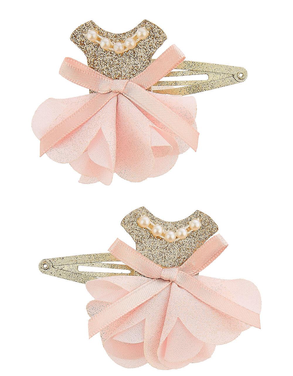 Valentina Ballerina Sparkle Hair Clips, , large