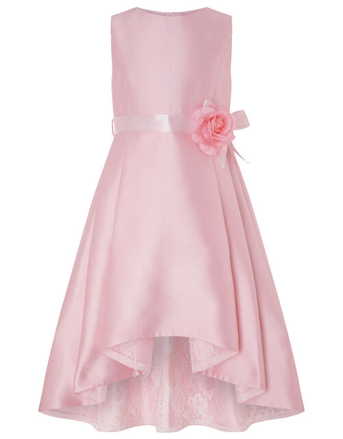 Lucinda Twill Occasion Dress, Pink (PALE PINK), large