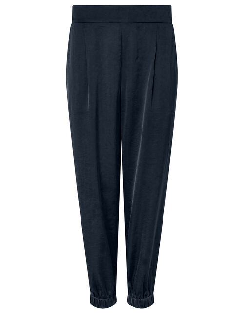Relaxed Genie Trousers, Blue (NAVY), large