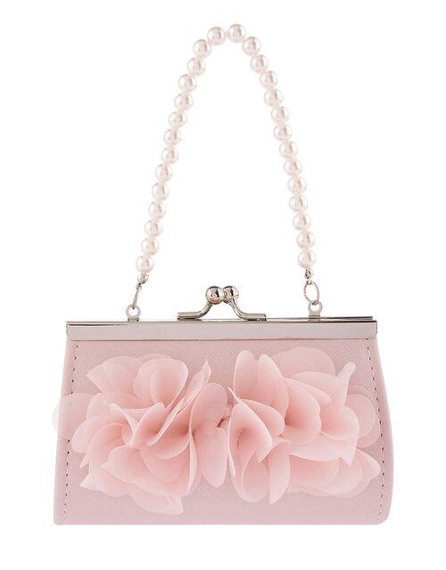 Ruffle Bow Mini Bag , , large