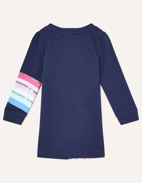 Pegasus Rainbow Sweat Set , Blue (NAVY), large