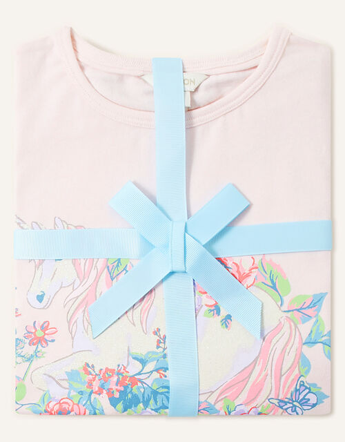 Fantasy Unicorn Pyjama Set, Blue (AQUA), large