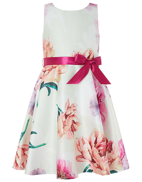 Peony Floral Occasion Dress, Multi (MULTI), large