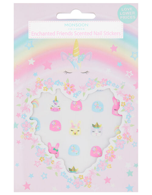 Scented Bunny Nail Stickers , , large