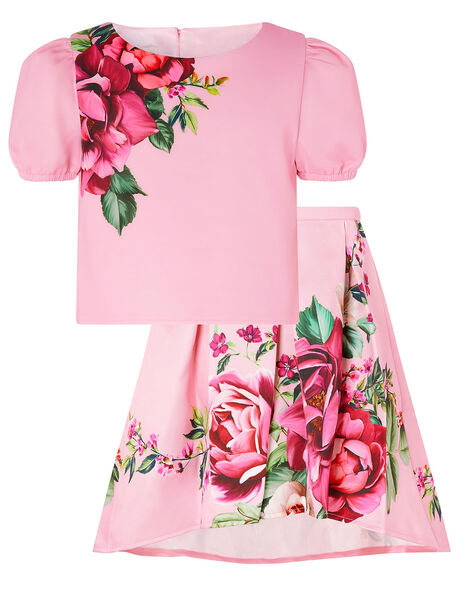Alana Rose Top and Skirt Set Pink, Pink (PINK), large