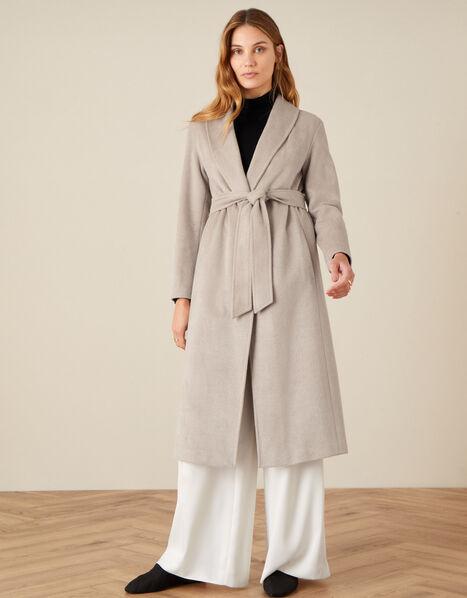 Rowan Robe Coat Camel, Camel (OATMEAL), large