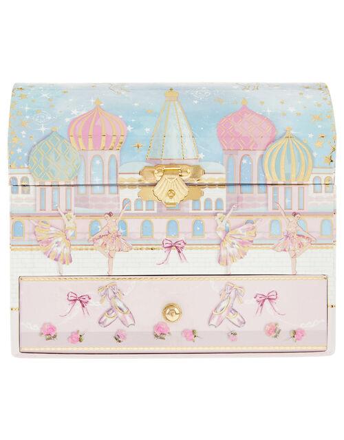 Pearly Dream Ballerina Musical Jewellery Box, , large