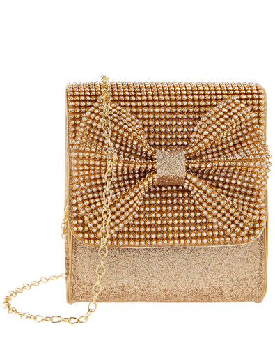 Sparkle Bow Bag, , large