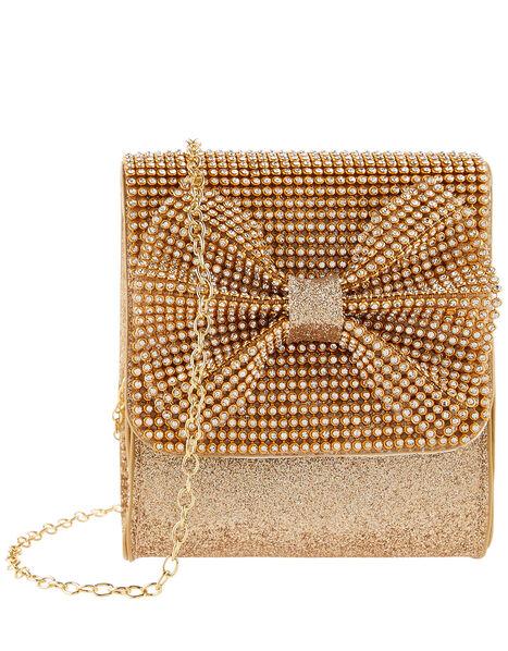 Sparkle Bow Bag, , large