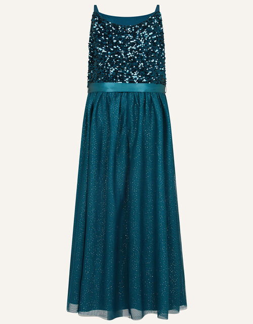 Truth Maxi Prom Dress, Teal (TEAL), large