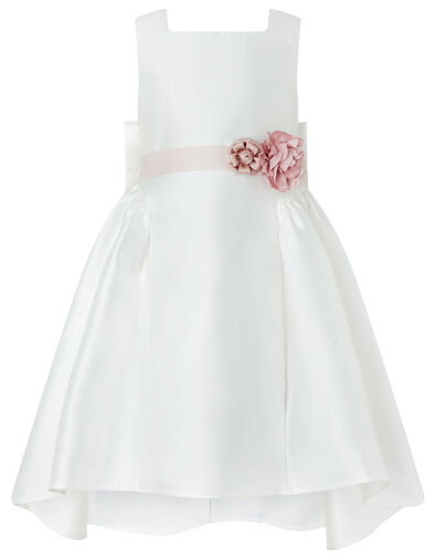 Cynthia High-Low Occasion Dress Ivory, Ivory (IVORY), large