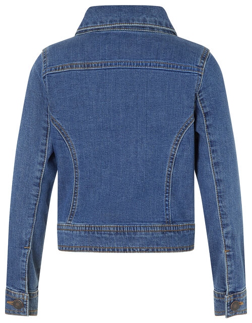 Daja Denim Jacket, Blue (BLUE), large