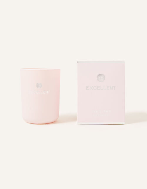 Rose Champagne Scented Candle, , large