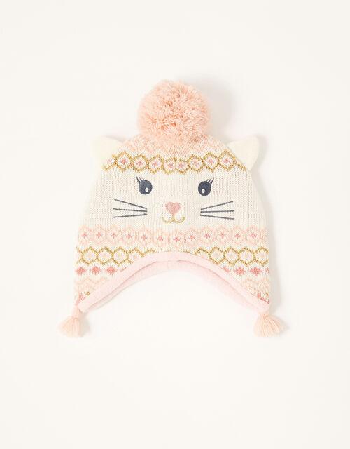 Baby Christmas Snowcat Hat, Multi (MULTI), large
