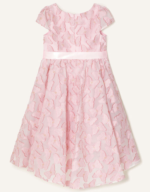Butterfly Jacquard Dress , Pink (PINK), large