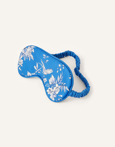 Pushka Bird and Floral Print Eye Mask , , large