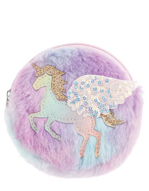 Rainbow Unicorn Purse, , large