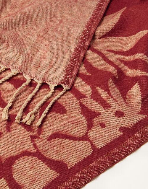 Floral Blanket Scarf, , large