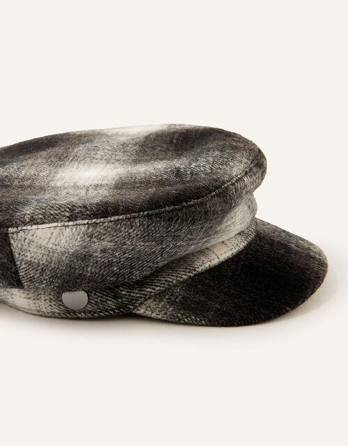 Check Baker Boy Hat, , large