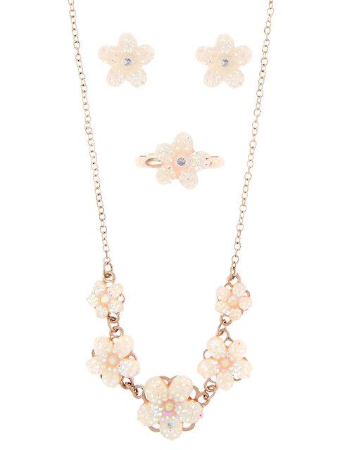 Disco Flower Jewellery Set , , large