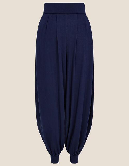 LOUNGE Heidi Jersey Hareem Trousers , Blue (NAVY), large