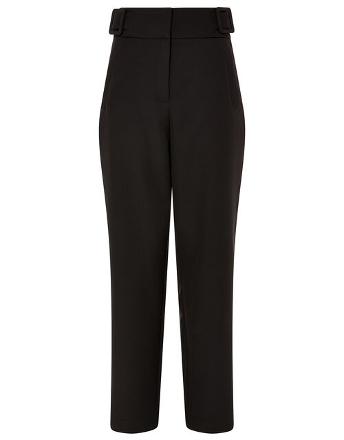 Smart Tapered Trousers, Black (BLACK), large