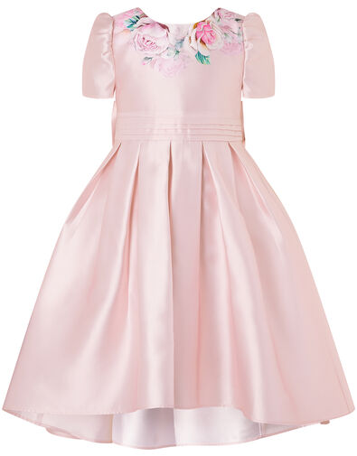 Floral Print Hi-Low Dress Pink, Pink (PINK), large