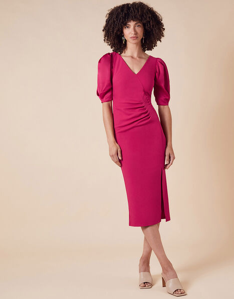 Eleanore Stretch Shift Dress Pink, Pink (PINK), large