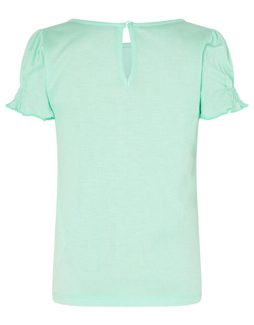 Unicorn Top in LENZING™ ECOVERO™, Blue (AQUA), large