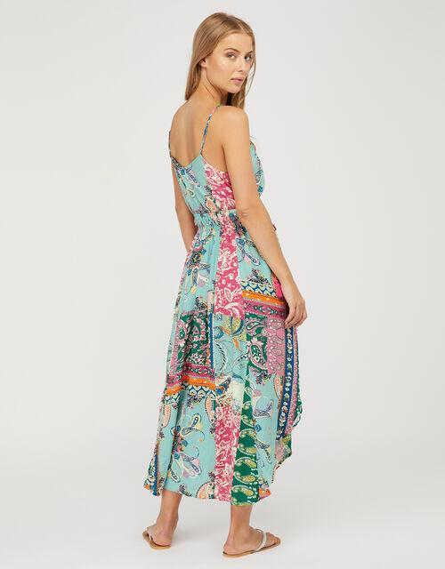 Floral Midi Dress in LENZING™ ECOVERO™, Multi (MULTI), large