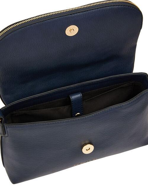 Zip Flap Cross-Body Bag, , large