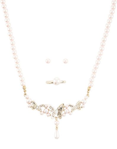 Eugena Butterfly Jewellery Set , , large