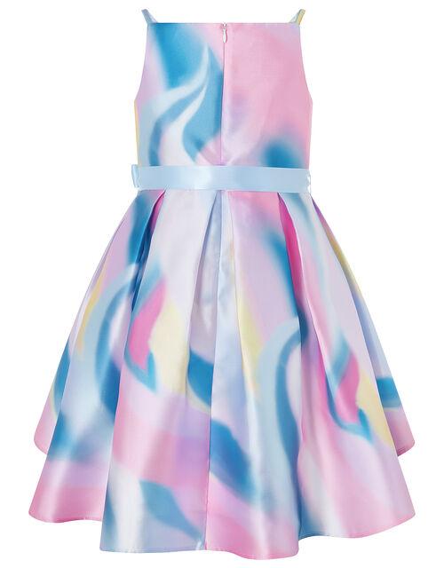Olene Unicorn Ombre High-Low Dress, Multi (MULTI), large