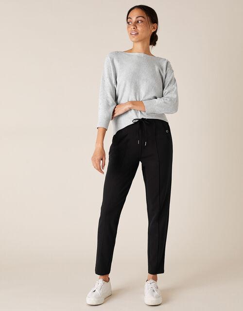 LOUNGE Layla Trousers, Black (BLACK), large