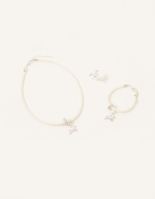 Unicorn Encased Jewellery Set, , large