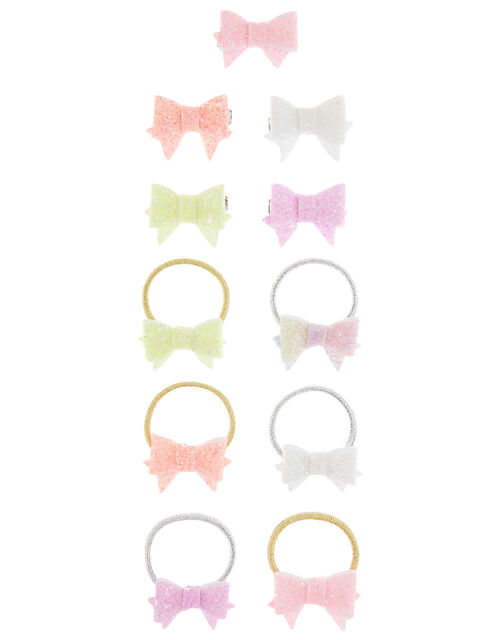 Rainbow Bowtique Hair Accessory Set, , large