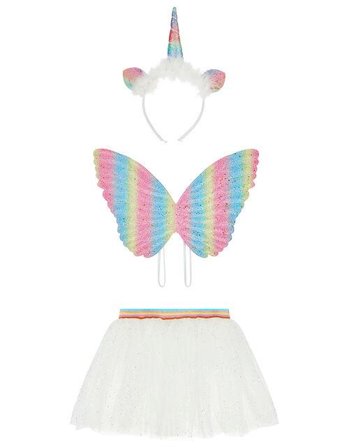 Rainbow Blush Unicorn Dress-Up Set, , large
