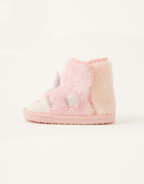 Ombre Unicorn Slipper Boots , Pink (PINK), large