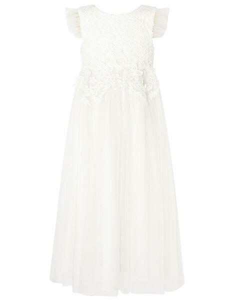 Crochet Maxi Dress Ivory, Ivory (IVORY), large
